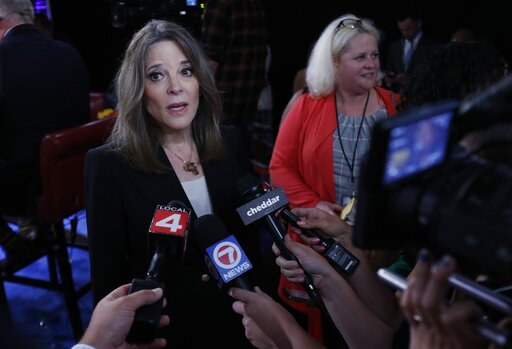 Fact-checking Marianne Williamson on school funding in the United States