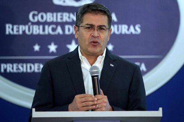 Honduran President Is Accused of Drug Conspiracy