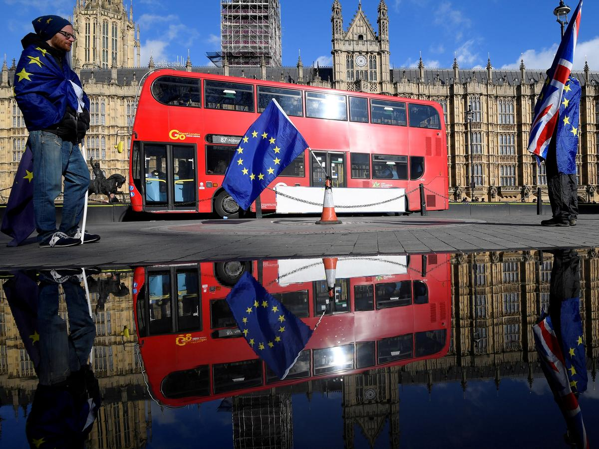 Immigration to Britain falls to 5-year low ahead of Brexit: ONS