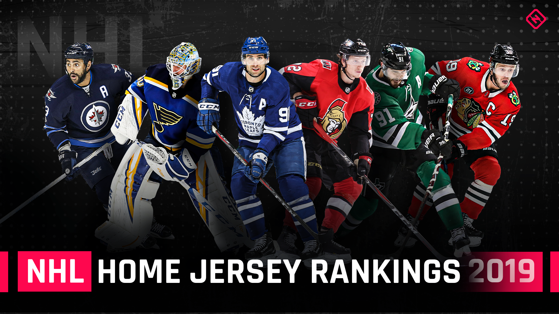 Ranking all 31 NHL home jerseys, from worst to first