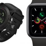 T1 Tact Watch 'Midnight Diamond' vs Apple Series 5 Smartwatch: Duel of Prices