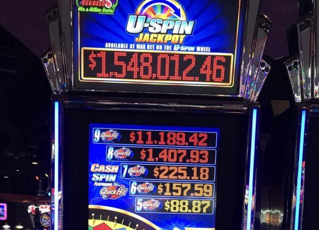 Bexar County man wins jackpot at Kickapoo Lucky Eagle Casino