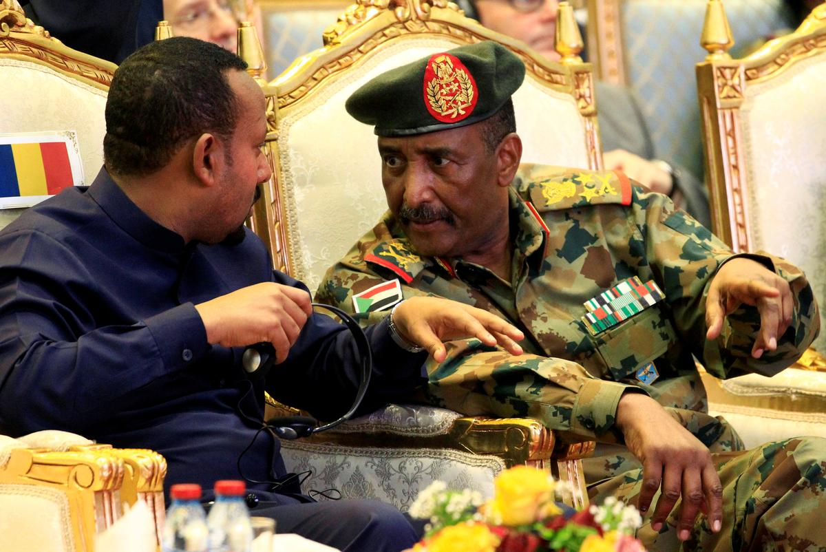 Head of Sudan's now-defunct military council sworn in as head of new sovereign council
