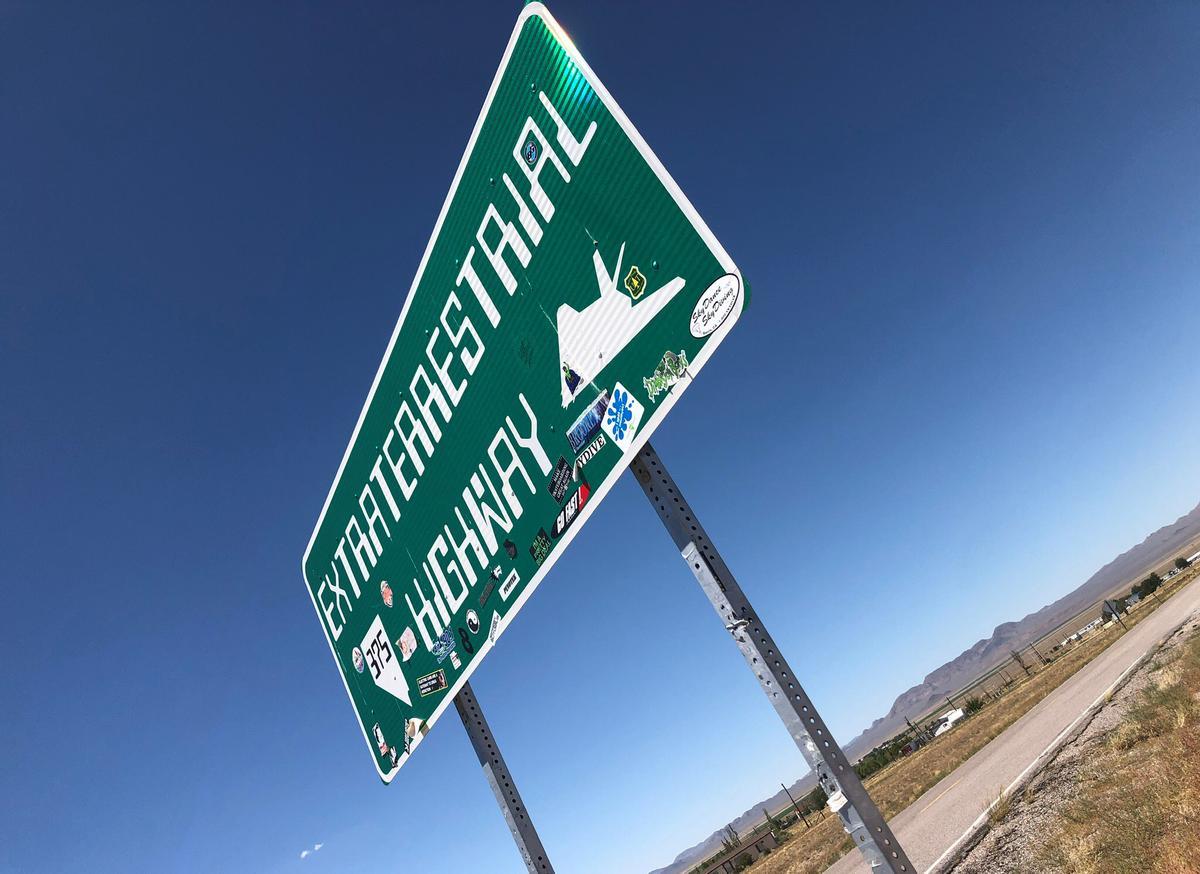 Tiny Nevada town near secretive Area 51 braces for alien hunters